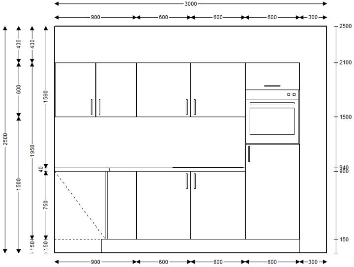 k che einbauk che l k che ohne elektroger te 7 verschiedene frontfarben ebay. Black Bedroom Furniture Sets. Home Design Ideas