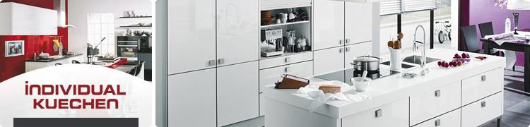 grifflose k che einbauk che inselk che mit elektroger ten 16 frontfarben kaufen bei. Black Bedroom Furniture Sets. Home Design Ideas